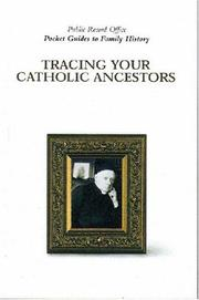 Cover of: Tracing Catholic ancestors