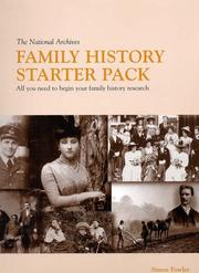 Cover of: The National Archives family history starter pack | Simon Fowler