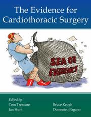Cover of: The Evidence for Cardiothoracic Surgery | Tom Treasure