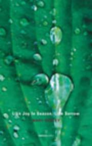 Cover of: Like joy in season, like sorrow