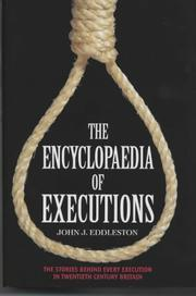 Cover of: Encyclopaedia of Executions | John Eddleston