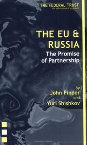 Cover of: The EU and Russia | John Pinder