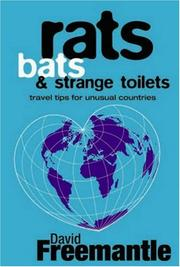Cover of: Rats, Bats and Strange Toilets