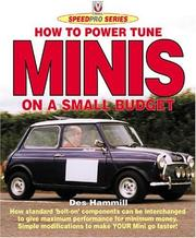 Cover of: How to Power Tune Minis on a Small Budget (Speedpro)