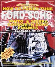 Cover of: How to Power Tune Ford SOHC 4-Cylinder Pinto & Cosworth DOHC Engines