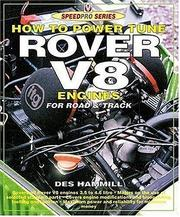 Cover of: How to Power Tune Rover V-8 for Road & Track
