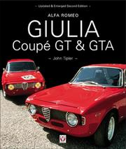 Cover of: Alfa Romeo Giulia Coupe GT and GTA (Car & Motorcycle Marque/Model)
