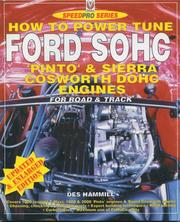 Cover of: Ford Sohc pinto & sierra cosworth dohc engines high - performance manual