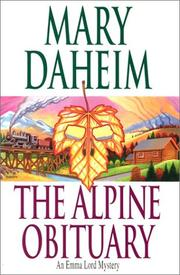 Cover of: The Alpine Obituary