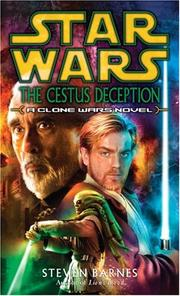 Cover of: The Cestus Deception (Star Wars: Clone Wars Novel)