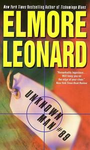 Cover of: Unknown Man #89 | Elmore Leonard