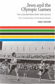 Cover of: Jews and the Olympic Games by Paul Taylor