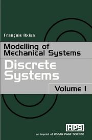 Cover of: Modelling of Mechanical Systems | François Axisa