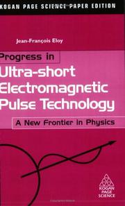 Cover of: Progress in Ultra-short Electromagnetic Pulse Technology | Jean-Francois Eloy