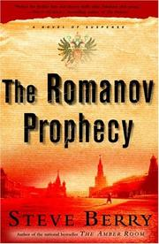 Cover of: The Romanov prophecy