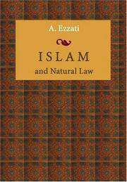 Cover of: Islam and natural law
