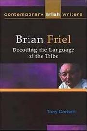 Cover of: Brian Friel | Tony Corbett