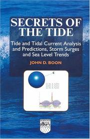 Cover of: Secrets of the tide | John D. Boon