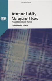 Cover of: Asset and Liability Management Tools