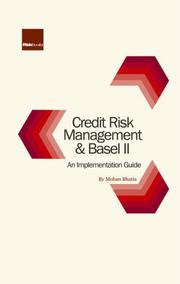 Cover of: Credit Risk Management and Basel II