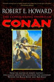Cover of: The Conquering Sword of Conan