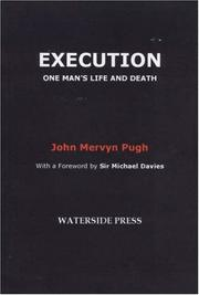 Cover of: Execution | John Pugh