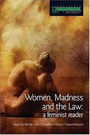 Cover of: Women, madness and the law |