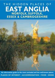 Cover of: HIDDEN PLACES OF EAST ANGLIA