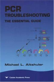Cover of: Pcr Troubleshooting | Michael Altshuler