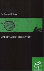 Cover of: Market abuse regulation