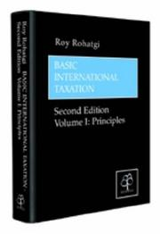 Cover of: Basic International Taxation | Roy Rohatgi