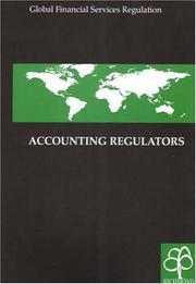 Cover of: Accounting regulators. |