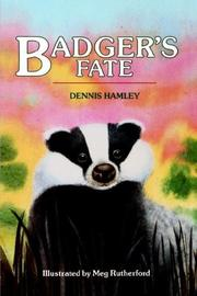 Cover of: Badger's Fate