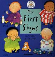 Cover of: My first signs
