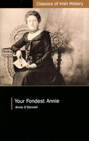 Cover of: Your Fondest Annie | Annie O'Donnell