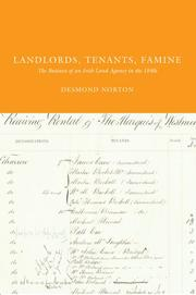 Cover of: Landlords, Tenants, Famine | Desmond Norton
