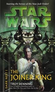 Cover of: The Joiner King (Star Wars: Dark Nest, Book 1)