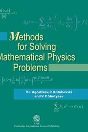 Cover of: Methods for solving mathematical physics problems by