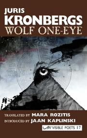 Cover of: Wolf One-eye (Visible Poets)