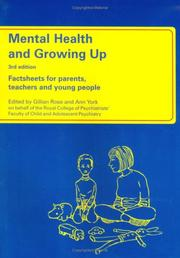 Cover of: Mental Health and Growing Up | Ann York