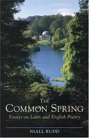 Cover of: Common Spring