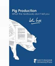 Cover of: Pig Production | John Gadd