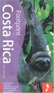 Cover of: Costa Rica, 2nd Edition (Footprint Costa Rica) | Peter Hutchinson