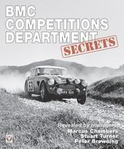 Cover of: BMC Competitions Department Secrets | Marcus Chambers