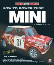 Cover of: How To Power Tune Mini (Speedpro)