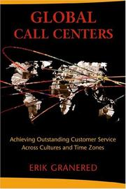 Cover of: Global Call Centers | Erik Granered