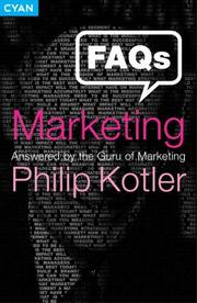 Cover of: FAQs on Marketing: Answered by the Guru of Marketing
