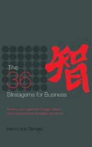 Cover of: The 36 Stratagems for Business