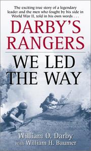 Cover of: Darby's Rangers
