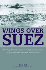 Cover of: WINGS OVER SUEZ | Brian Cull